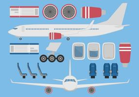286x200 Airplane Free Vector Art