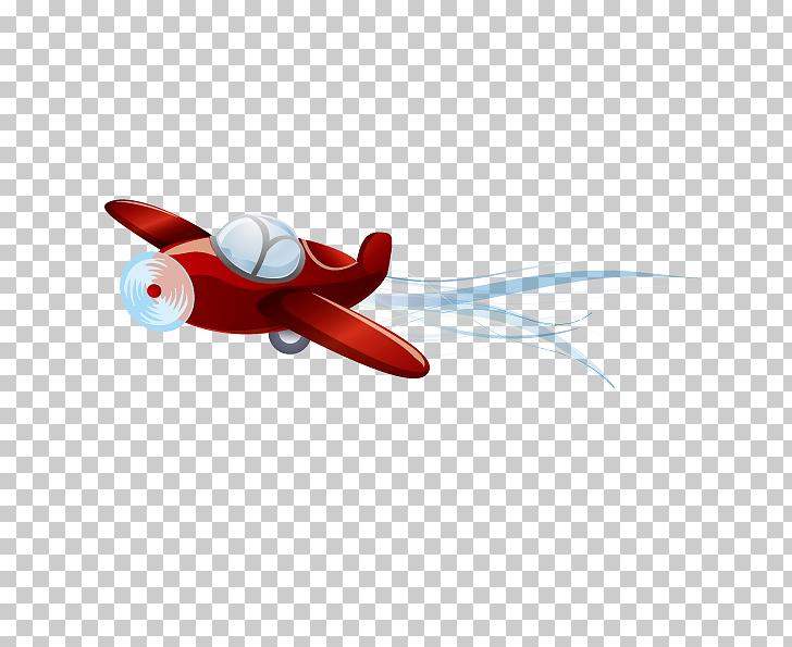 728x595 Airplane Aircraft Euclidean , Hand Drawn Cartoon Airplane, Red