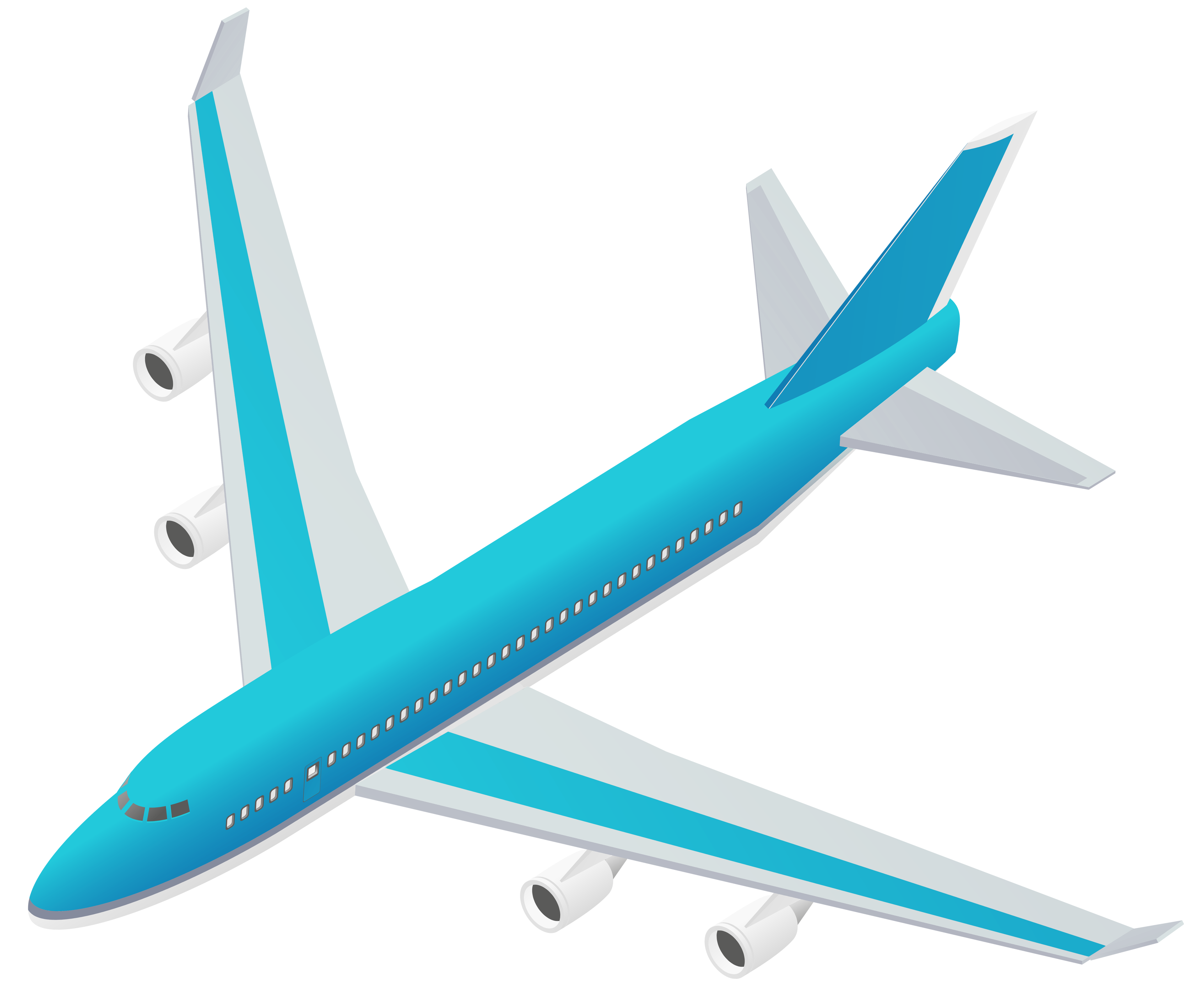 4136x3431 Blue Airplane Transparent Png Vector Clipartu200b Gallery