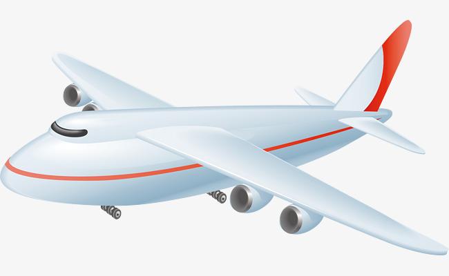 650x400 Plane Png Vector Element, Plane Vector, Cargo Aircraft, Vector Png