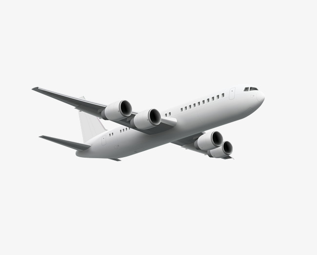 650x524 Vector Silver Flying Plane Plane, Plane Clipart, Vector Airplane