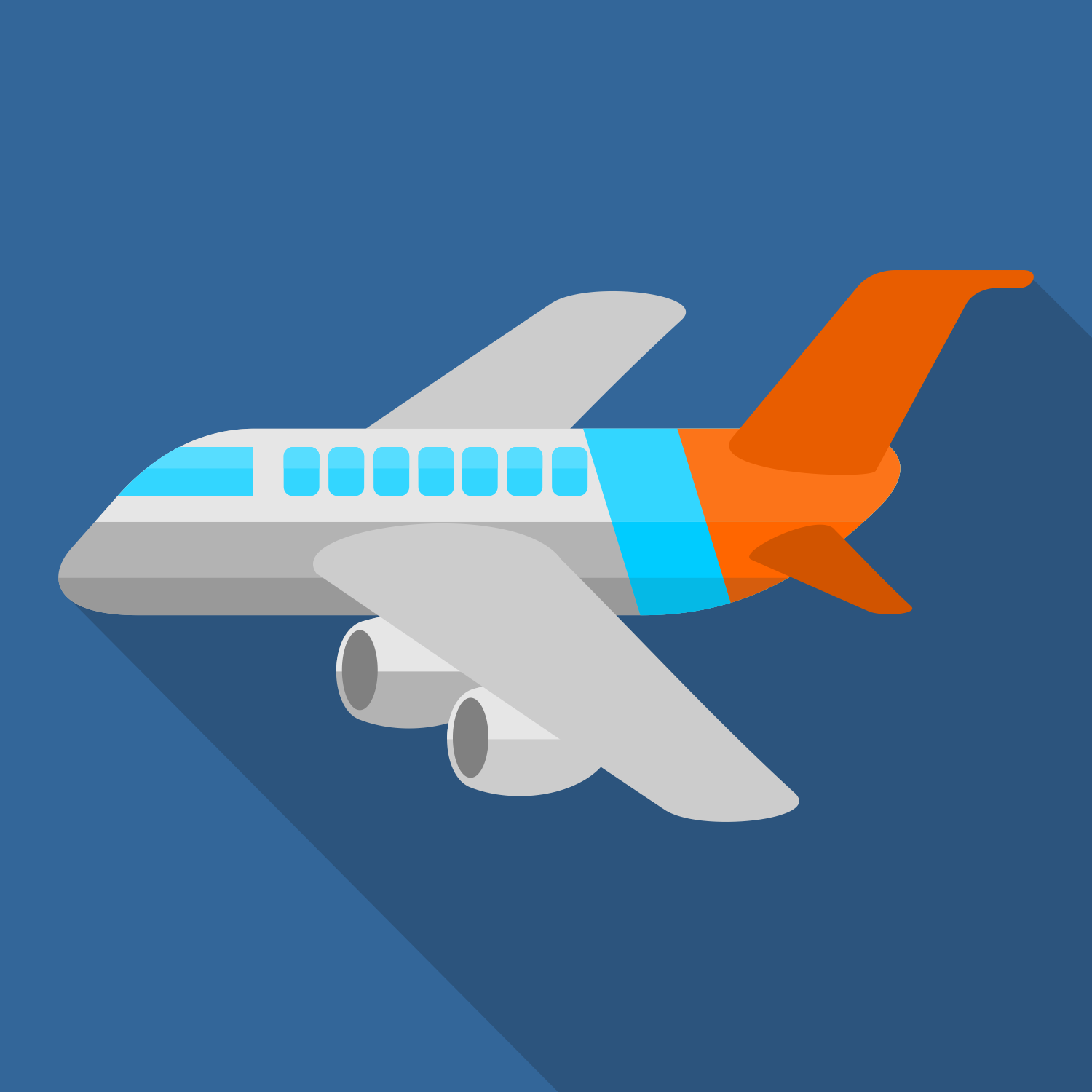 1500x1500 Vector For Free Use Plane Vector