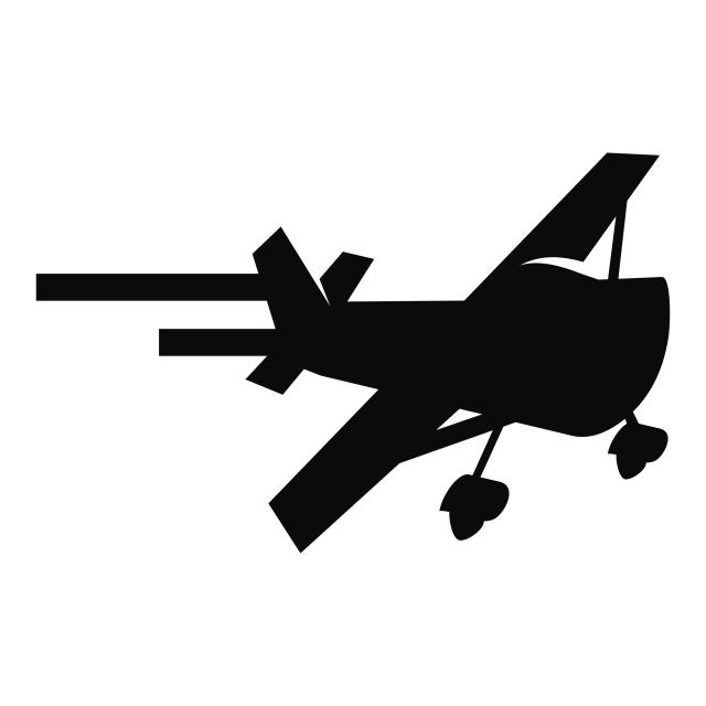 640x640 Airplane Icon Logo Design Template Vector, Vector, Icon, Template