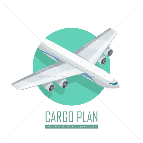 600x600 Airplane Vector Icon In Isometric Projection Vector Illustration