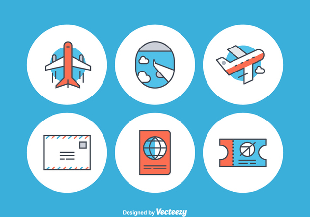 632x443 Free Airplane Vector Icons Free Vector Download 352383 Cannypic
