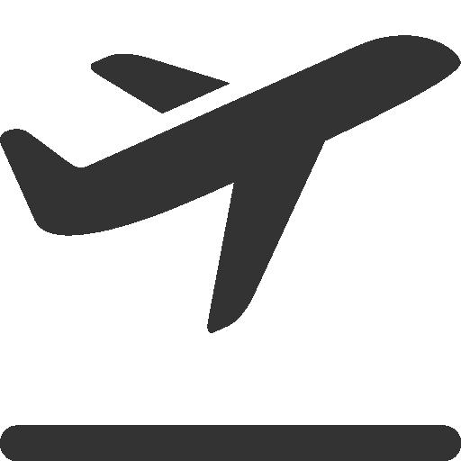 512x512 Takeoff, Airplane Icon
