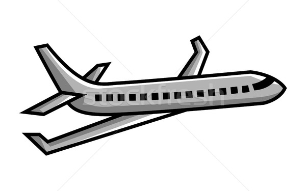 600x375 Airplane Flying Vector Icon Vector Illustration Brian Goff
