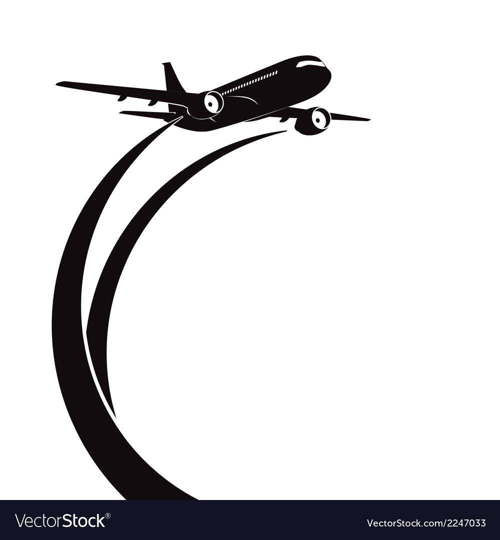 1000x1080 Airplane Flying Vector Icon Stock Vector Briangoff