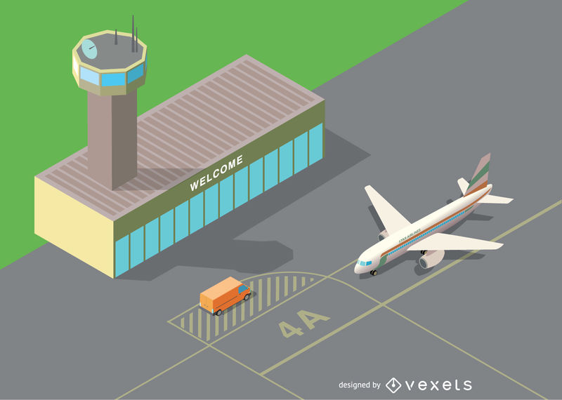 800x570 Isometric Airport