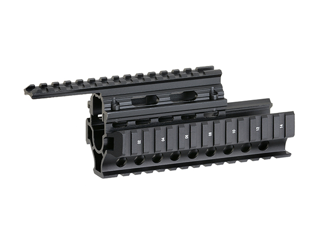 640x480 Ak Handguard Ris Quad Rail System [Vector Optics]