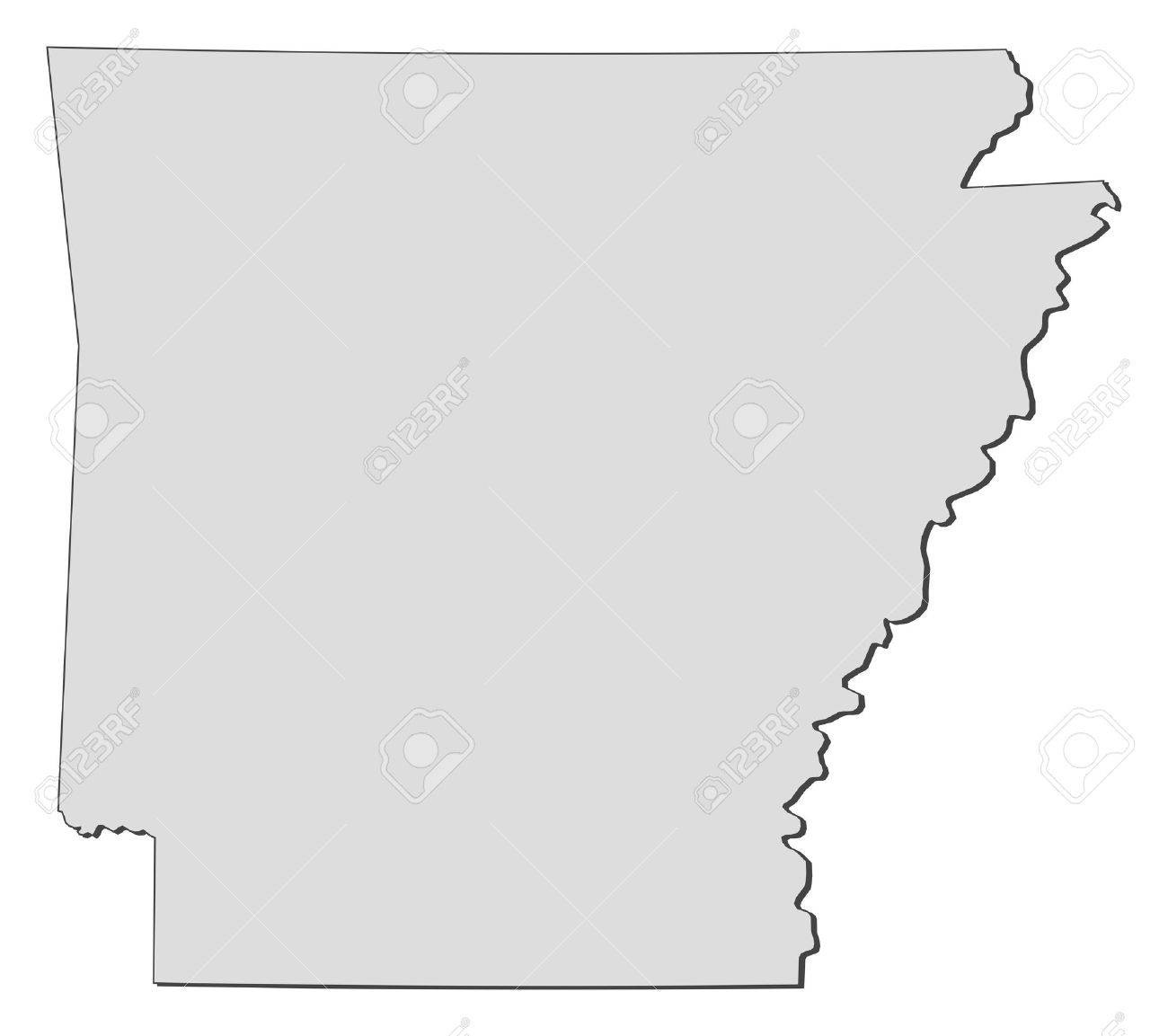 Alabama State Outline Vector
