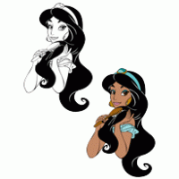 200x200 Free Download Of Jasmine And Aladdin Vector Graphics And Illustrations