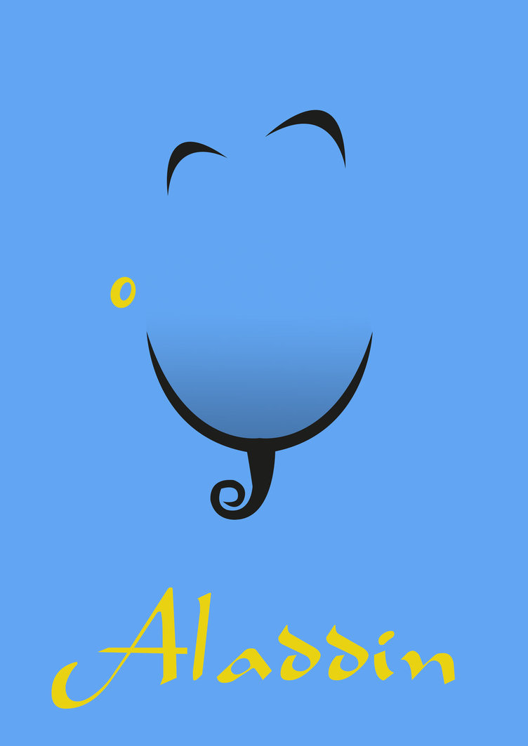 752x1063 Aladdin Logo Vector. Excellent Aladdin With Dishes Logo For Food