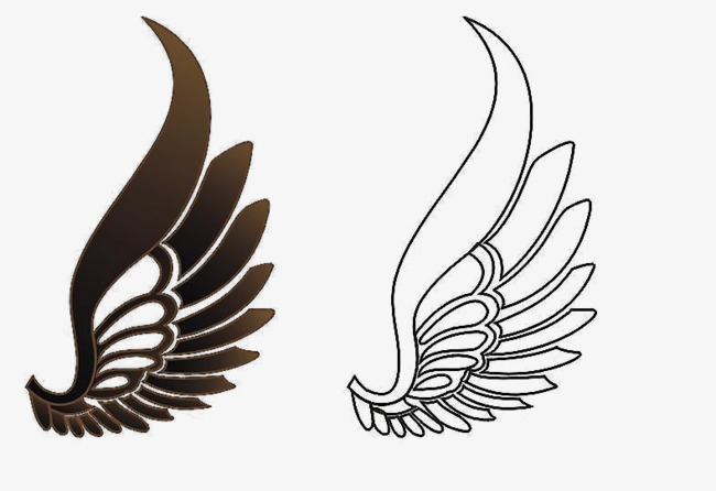 650x446 Flying Wings, Wing, Vector, Linear Wings Png And Psd File For Free