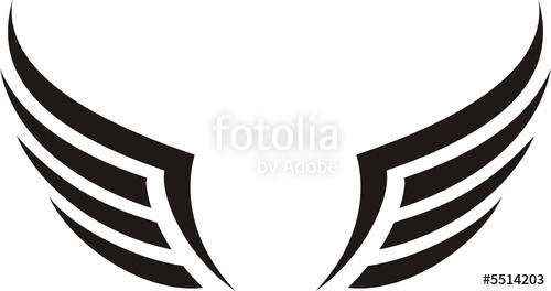 500x264 Alas Aisladas Stock Image And Royalty Free Vector Files On
