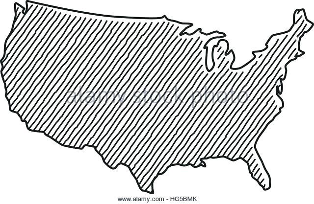 640x417 Alaska Map Outline Vector Alaska State Outline Image State Map