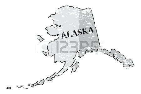450x300 Alaska Outline Vector State State Map Map Outline X Alaska Outline