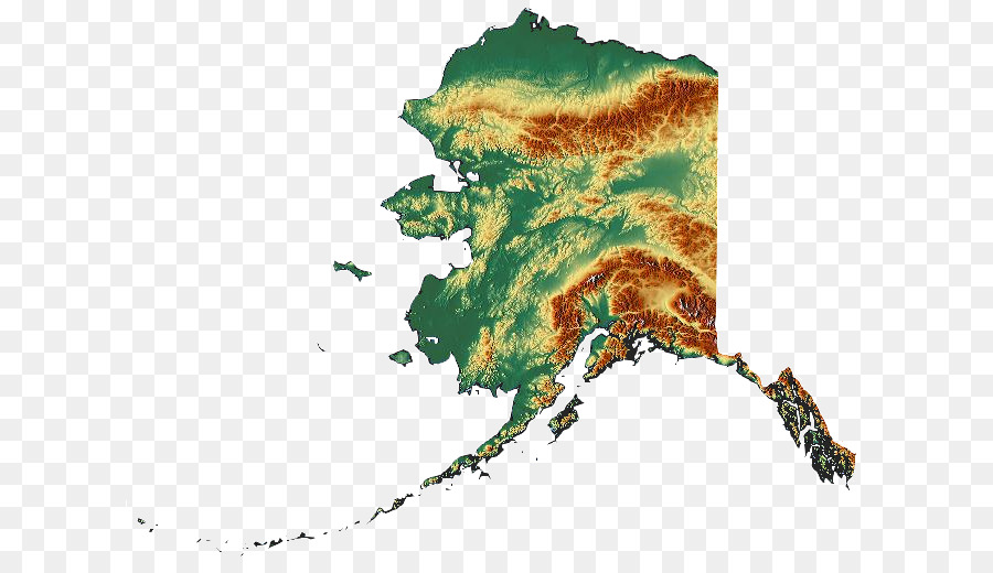900x520 Territory Of Alaska Vector Map