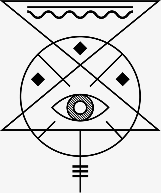 650x779 Alchemical Symbols, Ancient Mystery, Eye Of God, Preview Home Png