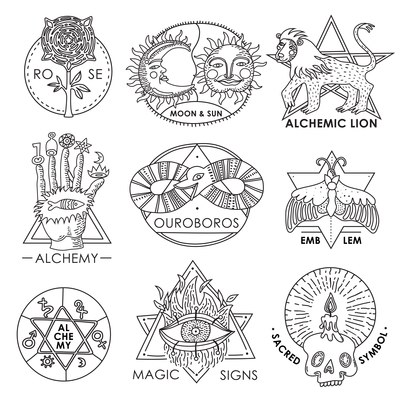 400x400 Alchemy On Curated Vector Illustrations, Stock Royalty Free Images
