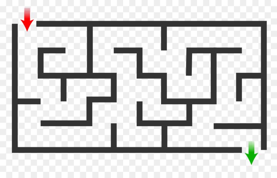 900x580 Maze Solving Algorithm Labyrinth Depth First Search Maze