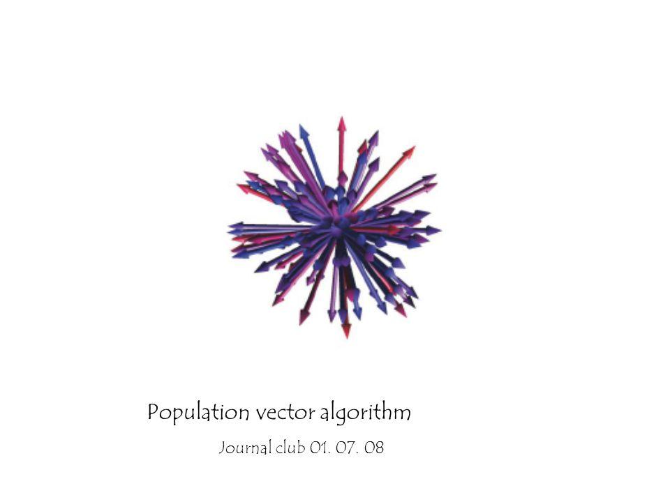 960x720 Population Vector Algorithm