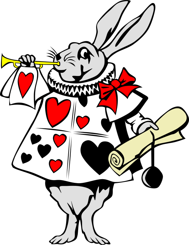 617x800 Free Rabbit From Alice In Wonderland Psd Files, Vectors Amp Graphics
