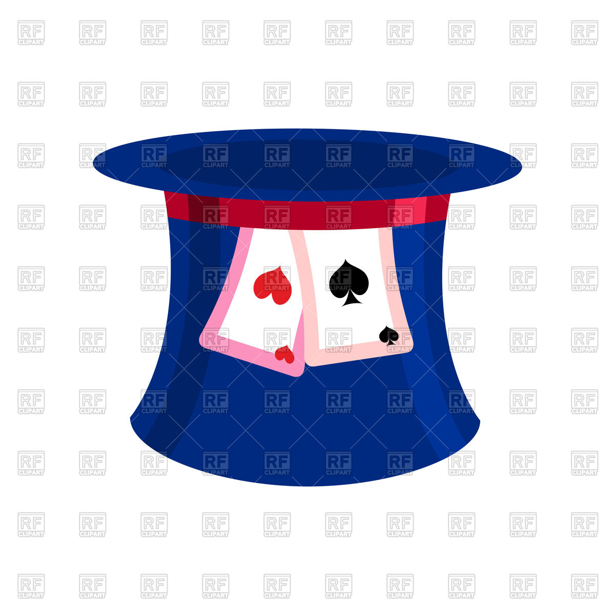 1200x1200 Hat Mad Hatter From Fairy Tale Alice In Wonderland Vector Image