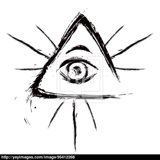 512x512 All Seeing Eye Vector