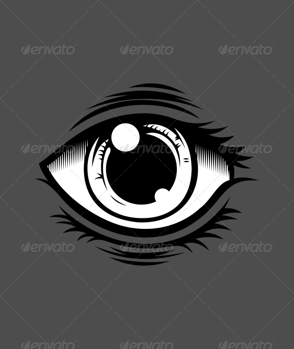590x700 Eye Vector By Twicolabs Graphicriver