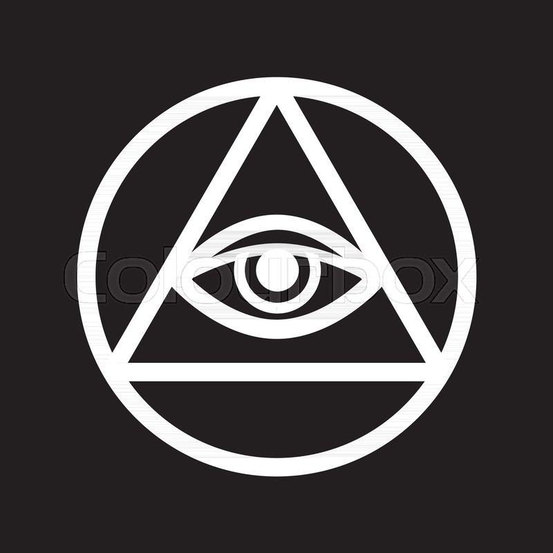 800x800 All Seeing Eye Of God (The Eye Of Providence Eye Of Omniscience