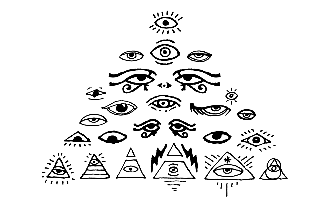 1270x770 All Seeing Eyes Vector Pack For Adobe Illustrator
