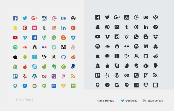 600x382 28 Free Social Media Icons Vector 2018 Best Graphics Amp Vector