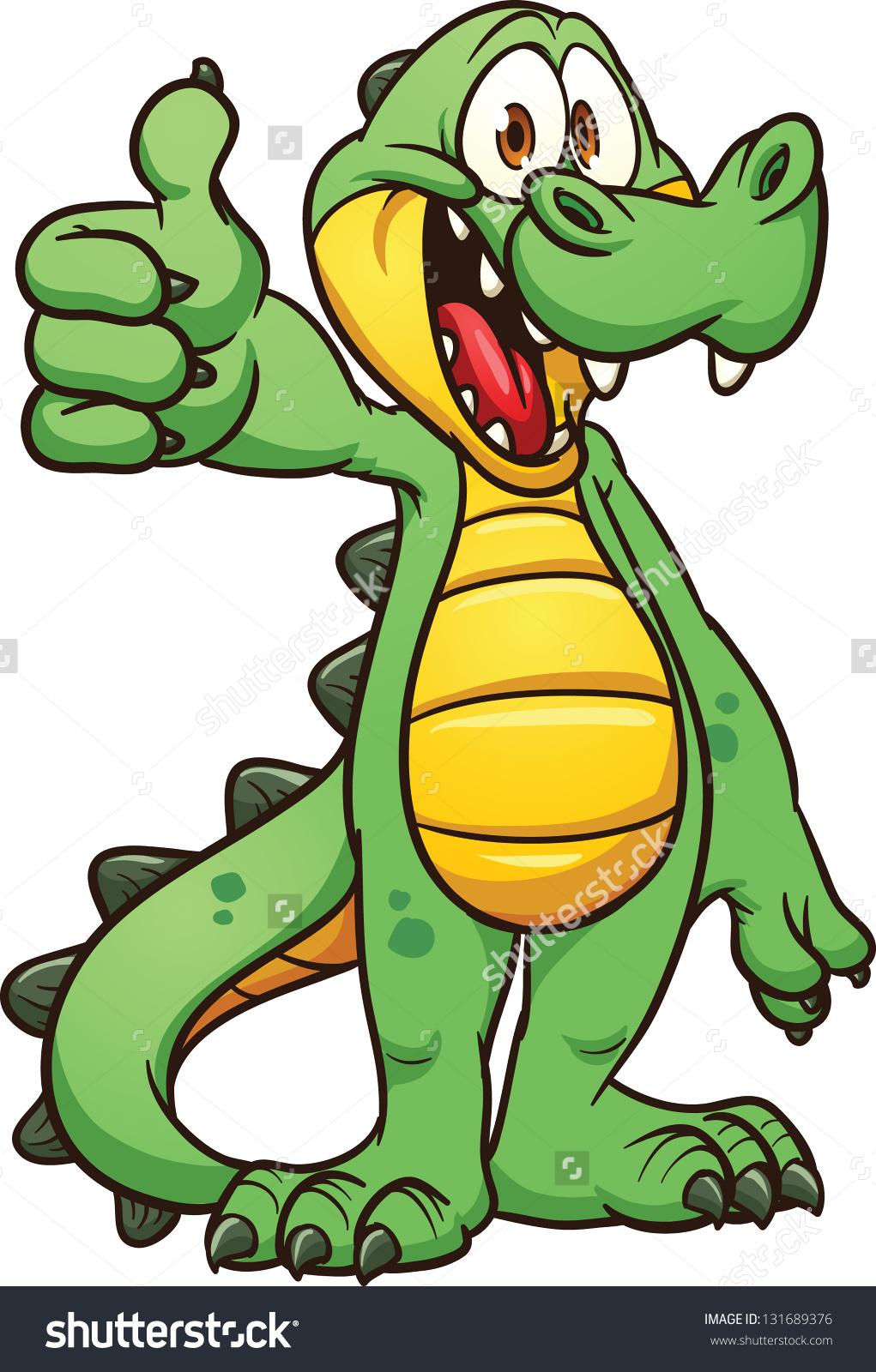 Alligator Vector Art