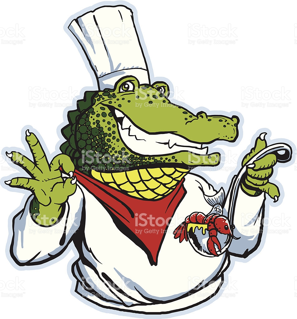 953x1024 Chefs Clipart Alligator ~ Frames ~ Illustrations ~ Hd Images