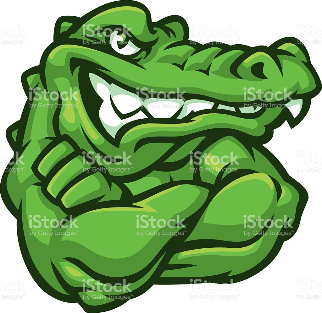 1024x997 Tough Gator Stock Vector Art More Images Of Alligator 508588630