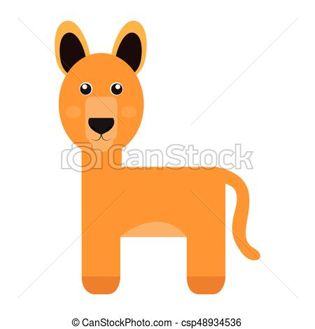 450x470 Isolated Cute Alpaca On A White Background, Vector Illustration.