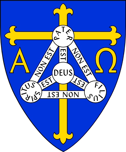 492x594 Coat Of Arms Of Anglican Diocese Of Trinidadincludes Christian