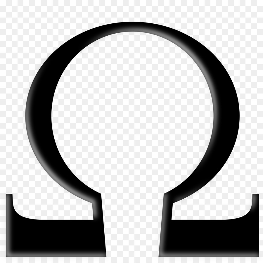 900x900 Alpha And Omega Symbol Ohm Clip Art