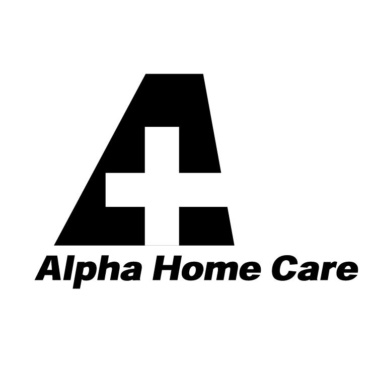 745x745 Alpha Home Care Free Vector 4vector