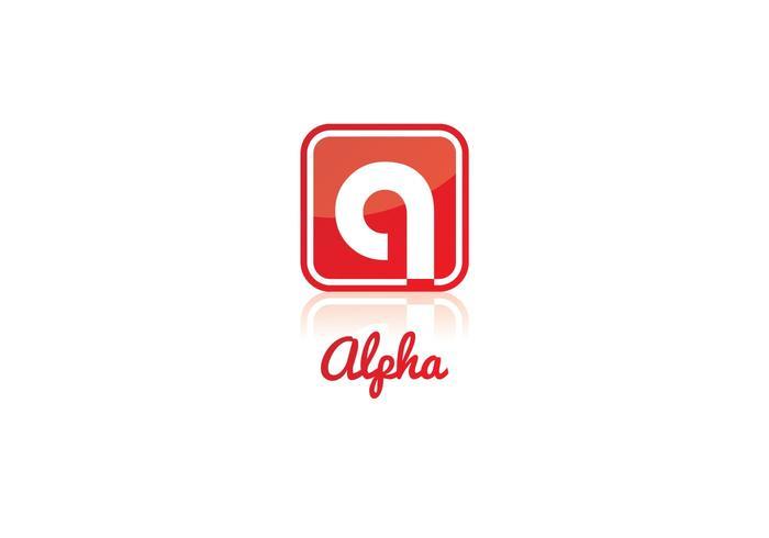 700x490 Free Alpha Logo Vector
