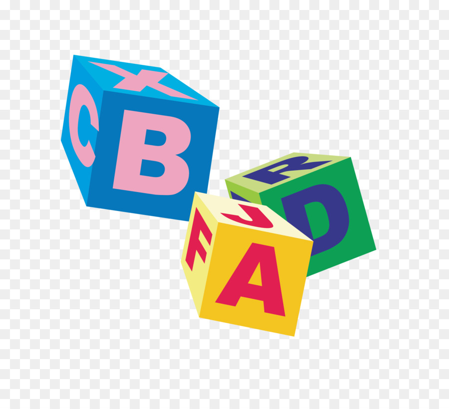 900x820 Cube Letter Toy Block