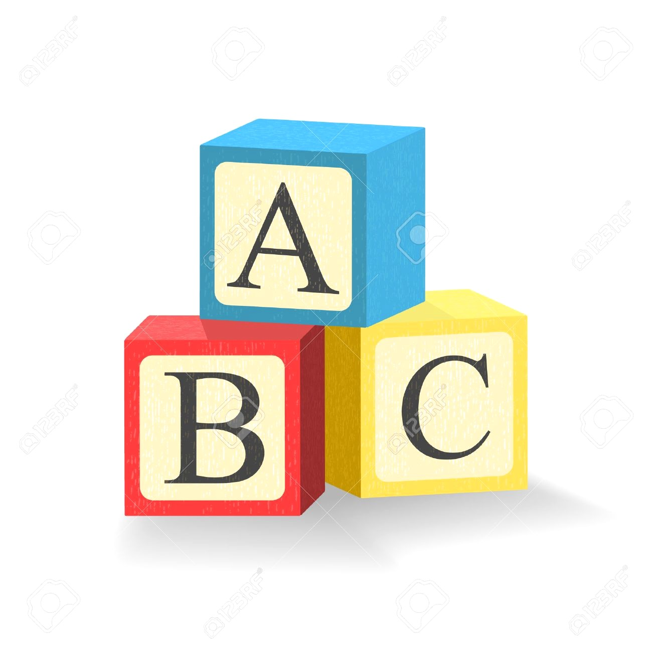 1300x1300 64898225 Abc Blocks Toy Cubes With Alphabet Letters Isolated