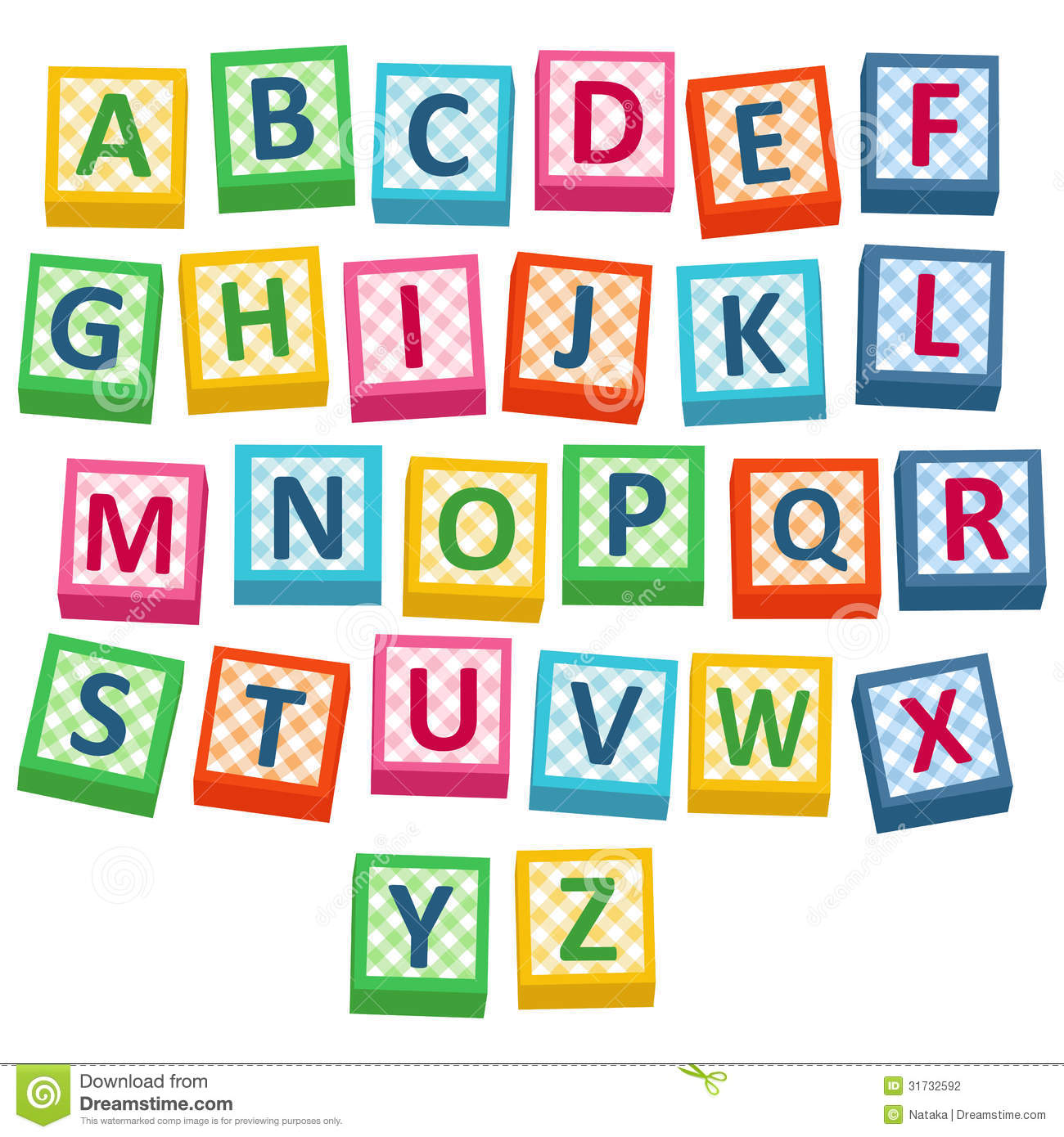 1300x1390 Alphabet Block Picture Library Download