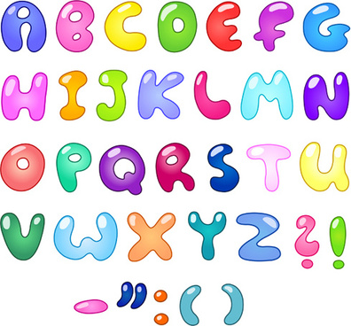 396x368 Alphabet Letters Free Vector Download (2,833 Free Vector) For