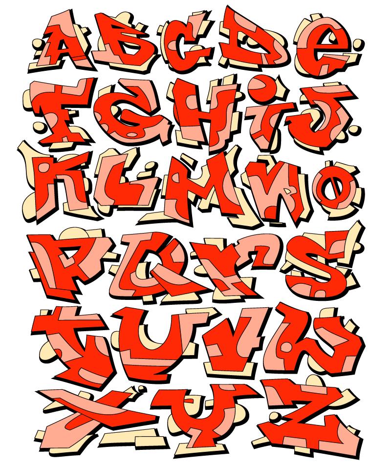 800x952 Creative Orange Alphabet Vector Free Vector Graphic Download