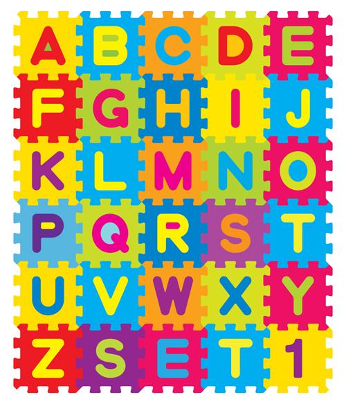 500x583 Different Alphabet Elements Vector Graphics 01 Free Download