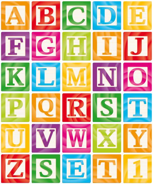 500x600 Different Alphabet Elements Vector Graphics 03 Free Download