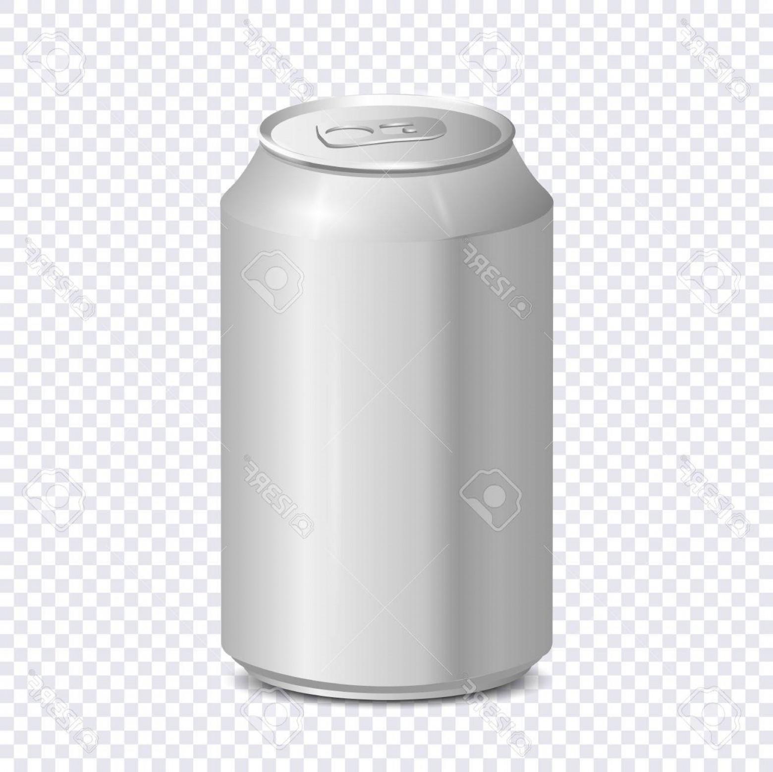 1560x1558 Photostock Vector Blank Aluminum Soda Can On Transparent