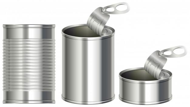 626x353 Three Different Designs Of Aluminum Cans Vector Premium Download